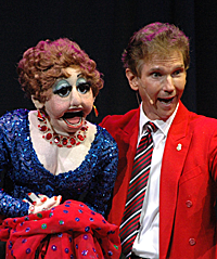 Ventriloquist Mark Merchant